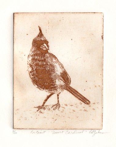 Desert Cardinal by P.L. Zukas