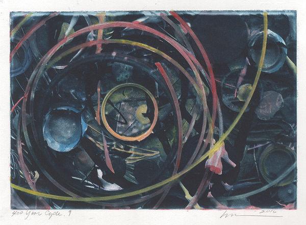 2016 Corvidae Print Exchange by Loreen Matsushima