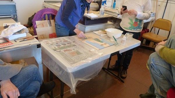 Moku Hanga Print Workshop 28