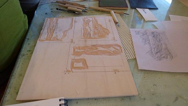 Moku Hanga Print Workshop 13