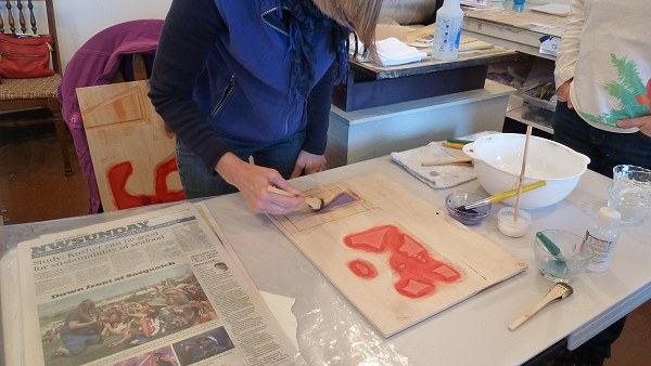 Moku Hanga Print Workshop 20