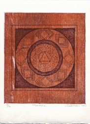 Mandala by Debra Brochin