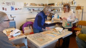 Moku Hanga Print Workshop 29