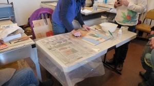 Moku Hanga Print Workshop 14